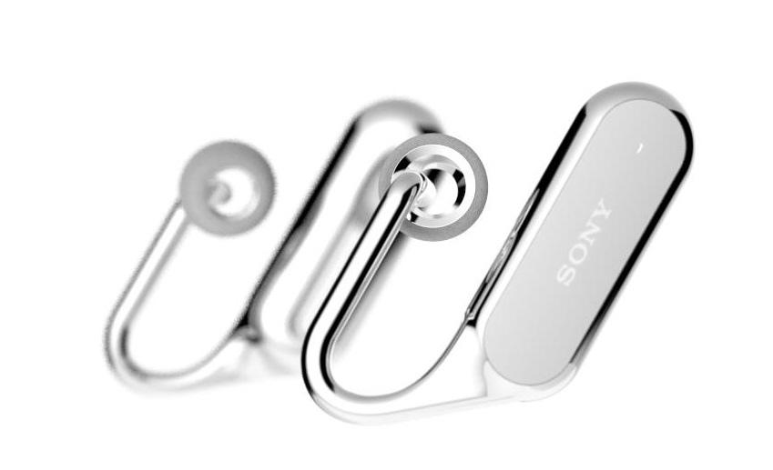 Xperia™ Ear Xperia Ear「Open Style Concept」立體聲智慧藍牙耳機,重新定義聆聽通訊體驗,聆聽音樂可同時聽見週遭環境聲響,並提供語音及頭部動作指令個人助理功能,創造創新溝通體驗(1)
