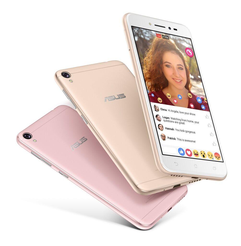 美顏直播神器「ASUS ZenFone Live」,是全球首款搭載美顏直播技術的智慧型手機