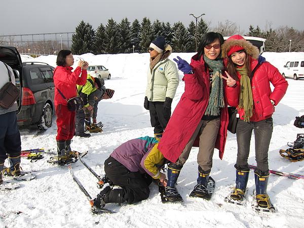 0207上午, 雪中散步!