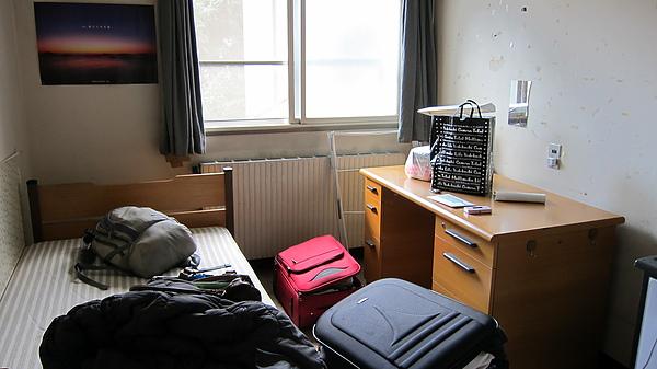 1001剛搬到宿舍的下午