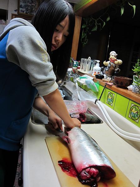 円做料理非常上手!!