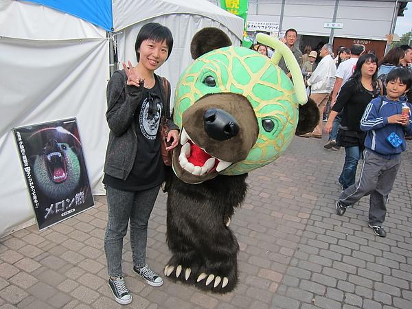 哈密瓜熊很好笑XD