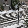 初雪隔天早上