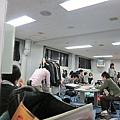 12/17定番前一天的休息室