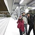 大雪所以火車誤點