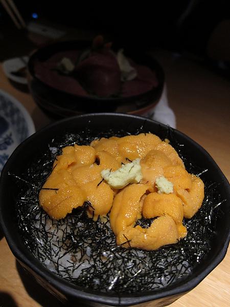 超級好吃的海膽...
