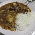 來日本第一次煮咖哩飯