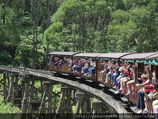 Puffing-Billy-Passengers