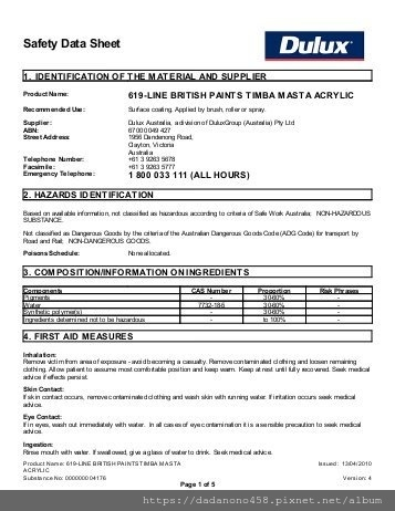 british-paints-timba-masta-acrylic-material-safety-data-sheets