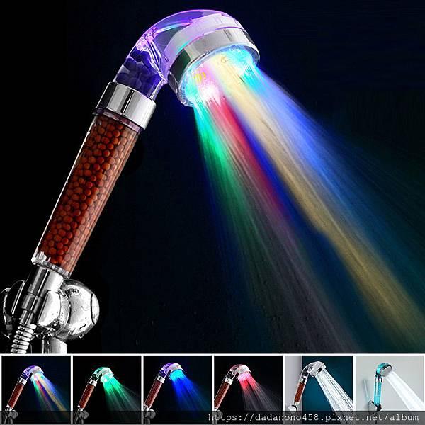 Temperature-Control-7-Color-LED-Light-Shower-Head-Home-Bathroom-Faucet-Accessories-Filter-Bath-Nozzle-SPA