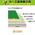 3mmFRP玻璃纖維中塗撒沙