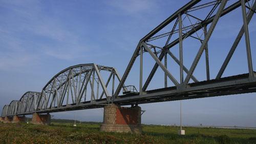 高雄市的最邊邊~浪漫的舊鐵橋溼地公園1