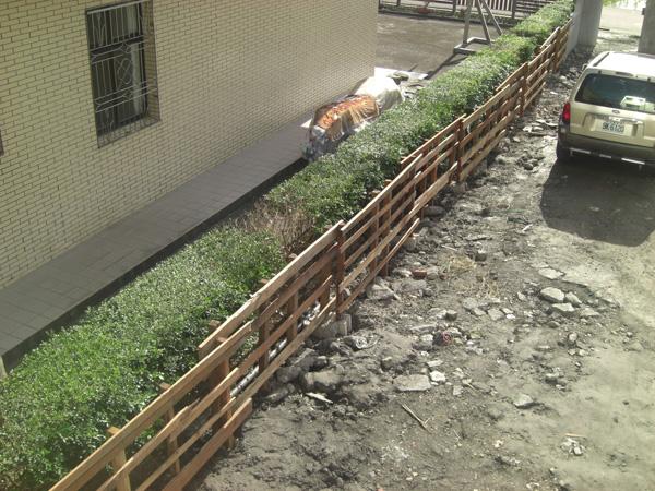 木圍籬DIY