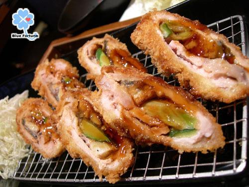 蒲燒鰻豬排