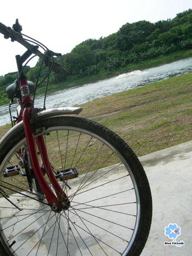 腳踏車&漁塭