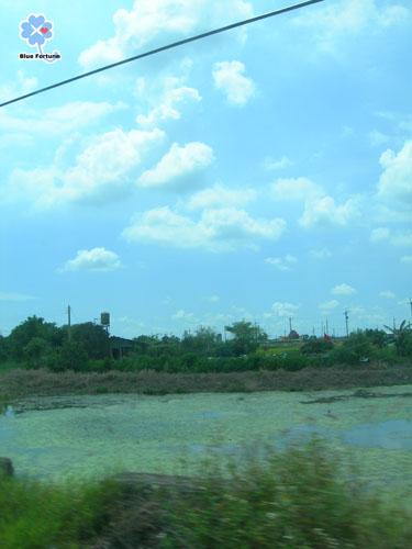 回家路上-藍天
