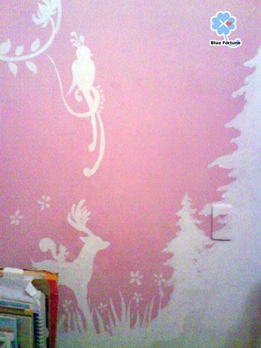 樹是我姊畫的~我對樹不太在行呀....Orz