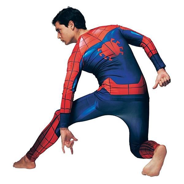 萬聖節跑趴服蜘蛛人