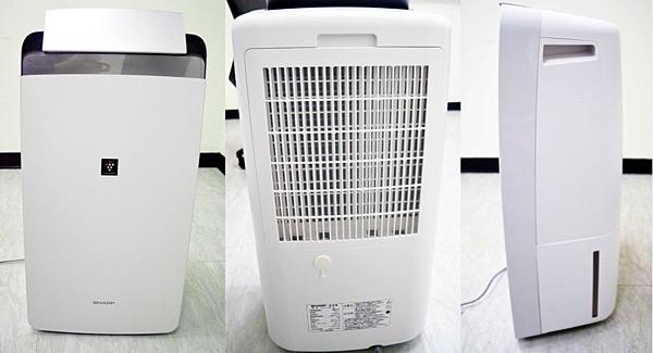 夏普 CV-H180 空氣清淨除溼機 外型時尚簡約