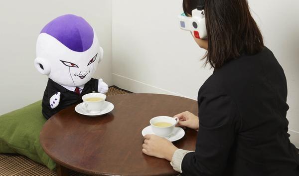 與弗利沙喝茶