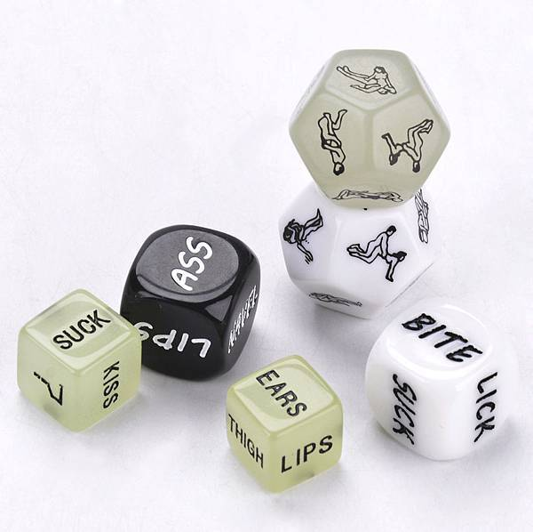 Funny Dice Game Toy for Couple情侶情趣遊戲骰子