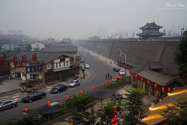 04569陕西西安古城墙