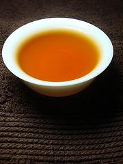 松柏嶺OP等級金萱茶湯