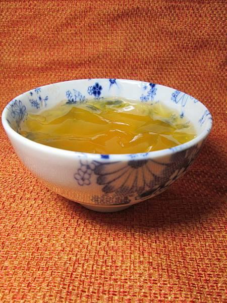 綠茶愛玉凍1
