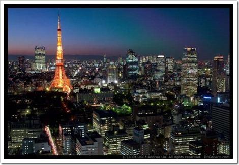 東京絕讚夜景-濱松町