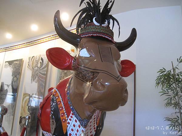 [1Y11M20D]文化館一樓的牛