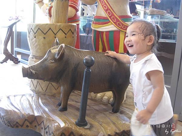 [1Y11M20D]凱達格蘭文化館一樓的小山豬