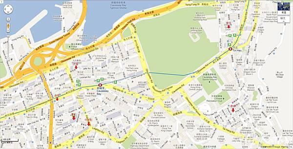 map02銅鑼灣、天后