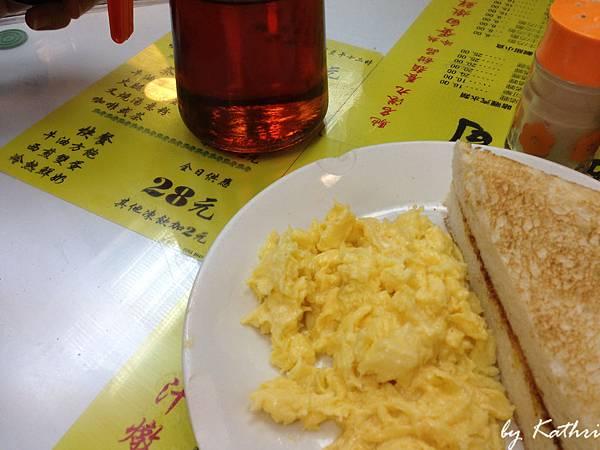 早餐套餐,方包(烤土司)好好吃