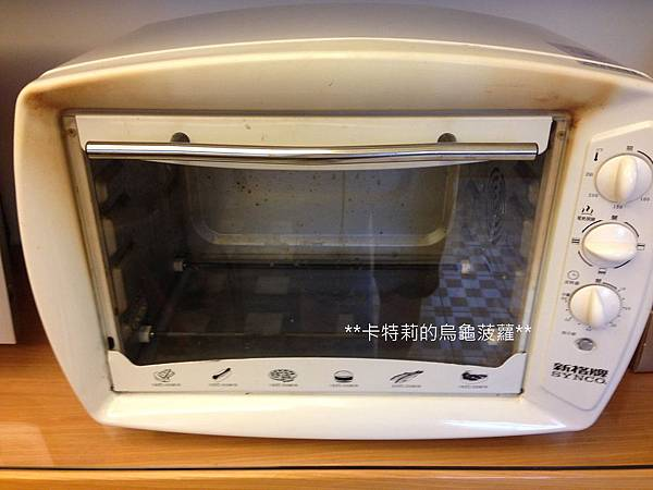 今天使用交給媽媽的舊烤箱.jpg