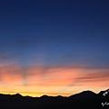 試拍之七 -染色的雲