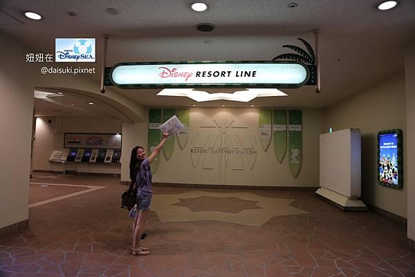 DAY3 先來坐Disney RESORT LINE