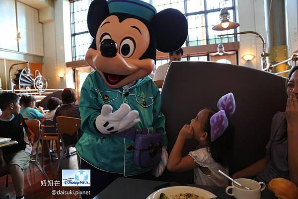 DAY3 Mickey和妞妞啾了一下,妞妞笑翻了