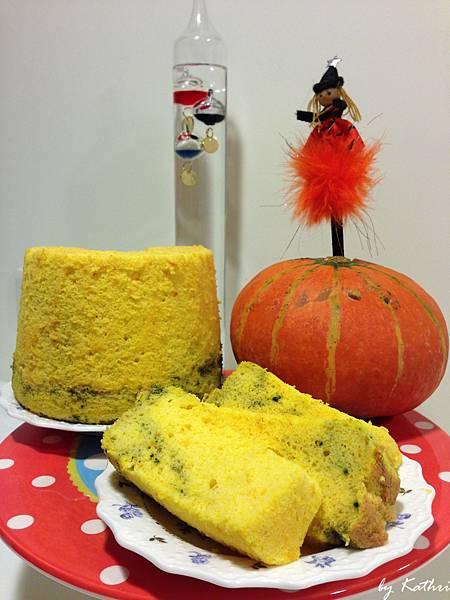 南瓜節的應景蛋糕