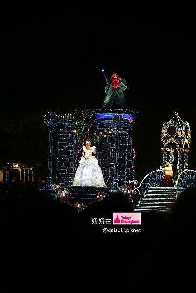 DAY4 Cinderella和她的仙女、王子跟玻璃鞋(裙子會變顏色,超酷的)