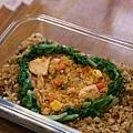 給銀仔的炒飯vs蕃茄醬雞肉炒飯