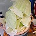 高麗菜剝小片