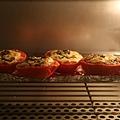 紫蘇起士烤蕃茄