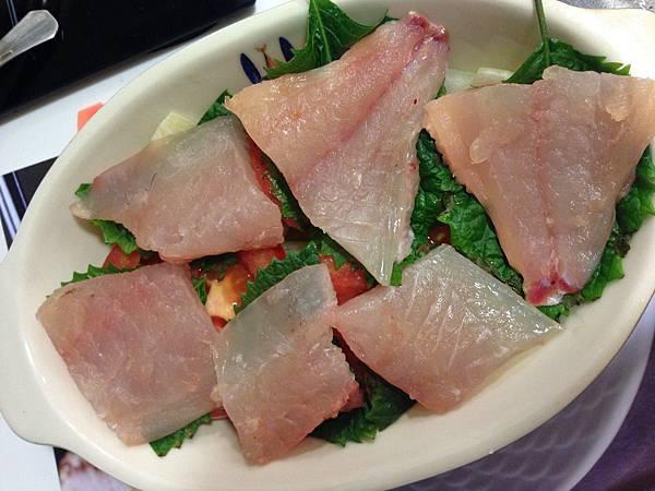 紫蘇葉+魚片