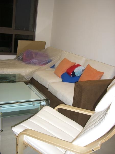 訂做沙發和IKEA躺椅
