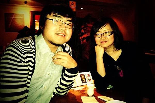 即將返回中國的兩人