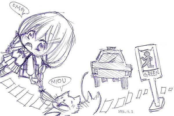 轉角遇到貓