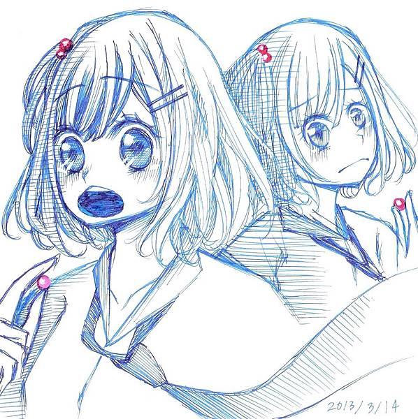 有關糖果的小少女漫畫