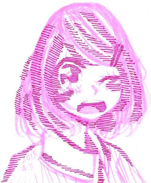 粉紅色螢光筆
