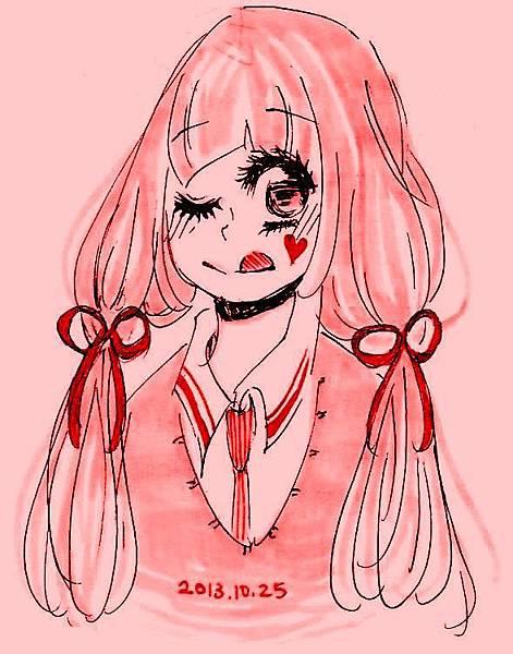 粉紅女孩1