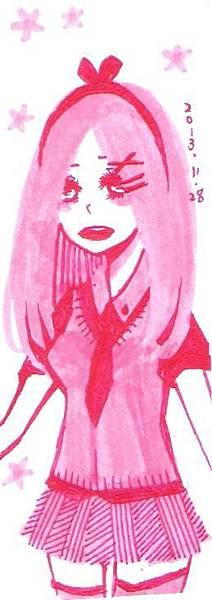 粉紅色學姐